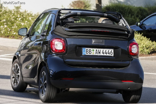 Smart ForTwo Cabrio привезут во Франкфурт