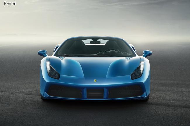 Ferrari привезет во Франкфурт мощный родстер