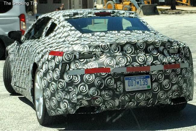 Lexus готовит купе для «Большого туризма»