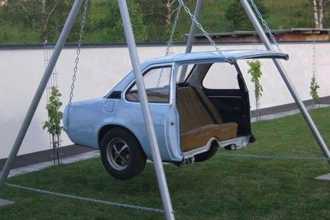 Самое необычное, что можно сделать из автомобиля