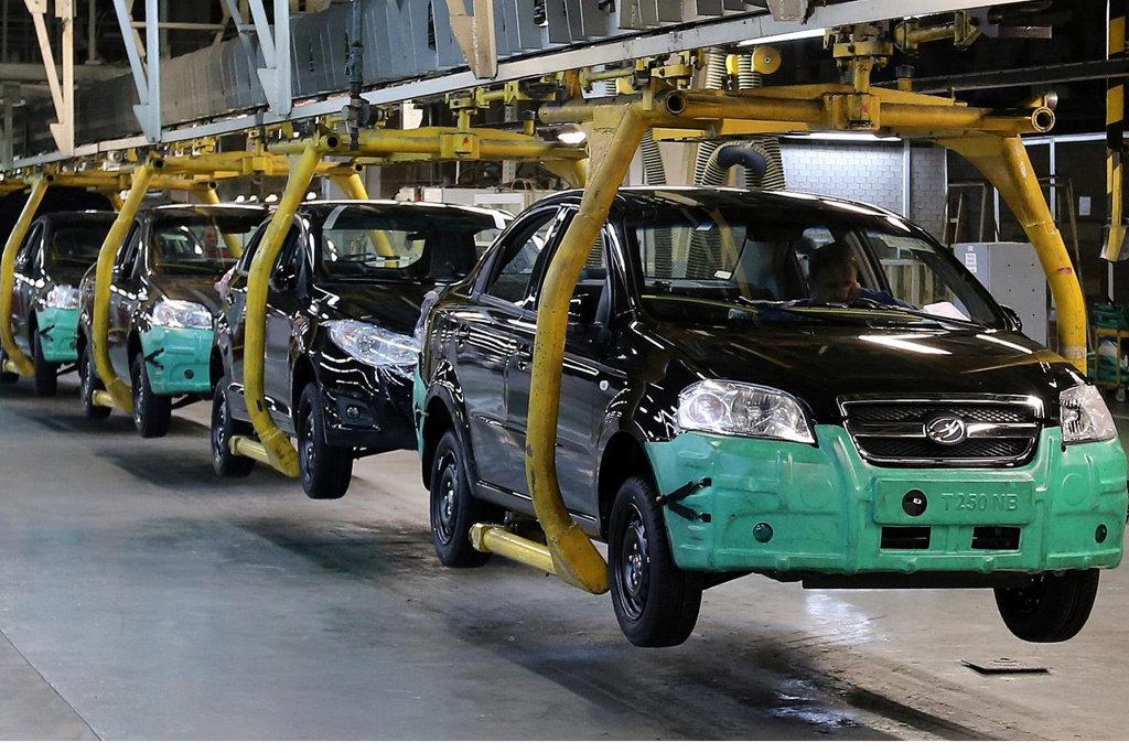 Украина производит 20 автомобилей в день