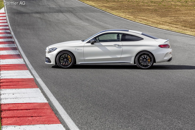 Mercedes-Benz представил купе от AMG