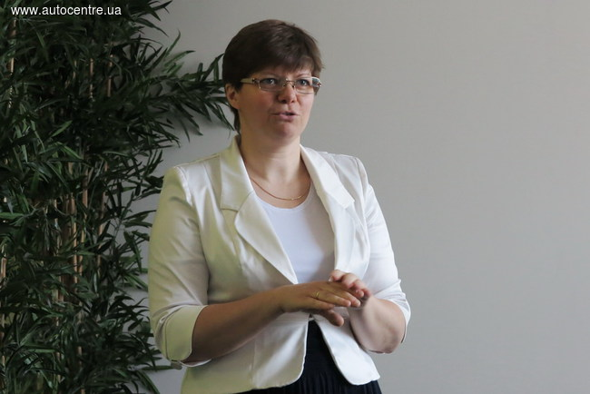 директор по маркетингу «Рено Украина» Оксана Борейко.