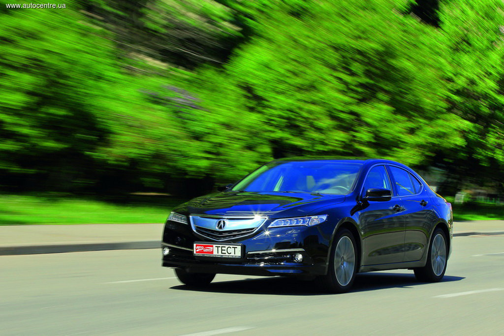 Тест-драйв Acura TLX 3,5 SH-AWD Advance: одна за всех