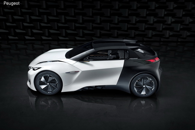 Peugeot создала городской электрокар
