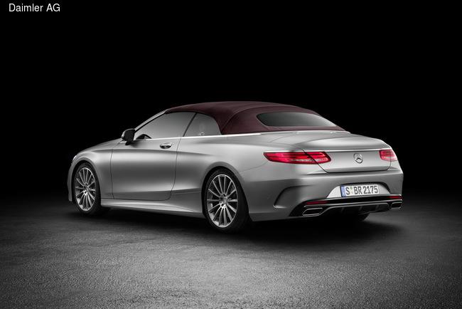Mercedes-Benz показал люксовый кабриолет