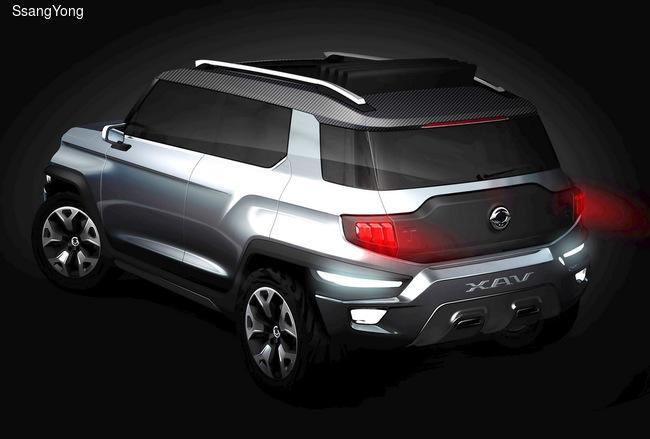 SsangYong покажет во Франкфурте три новых SUV