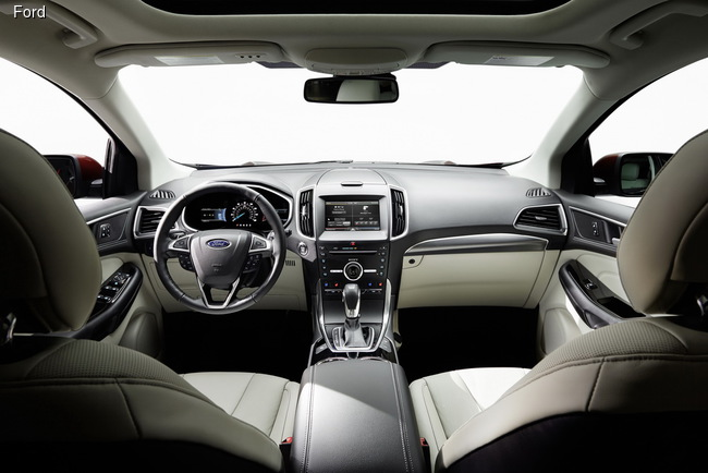 Ford Edge адаптировали для Европы