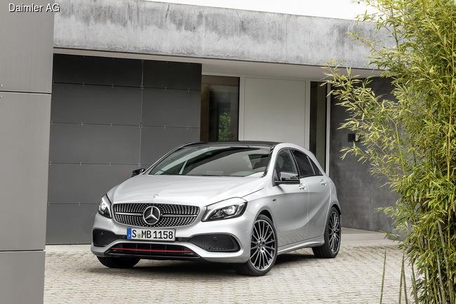 Mercdes-Benz A-Class получит 17 модификаций
