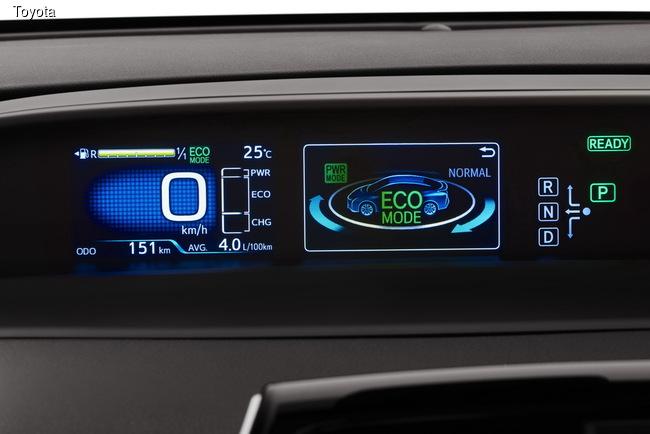 Toyota Prius дебютировал в новой ипостаси