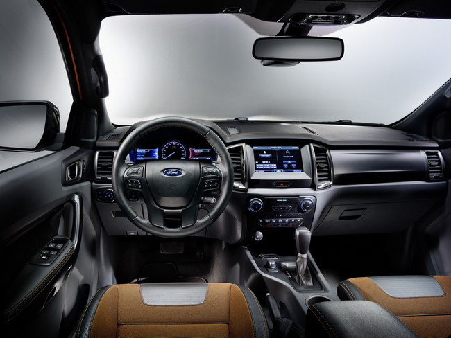 Рестайлинговый Ford Ranger едет в Европу