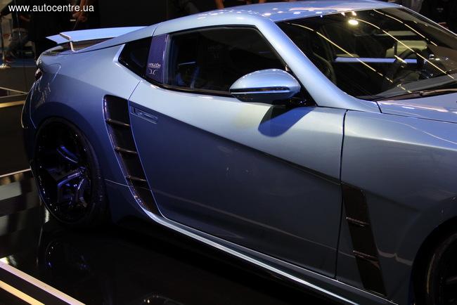 Франкфуртский автосалон 2015: Немцы представили новый суперкар (+ВИДЕО)