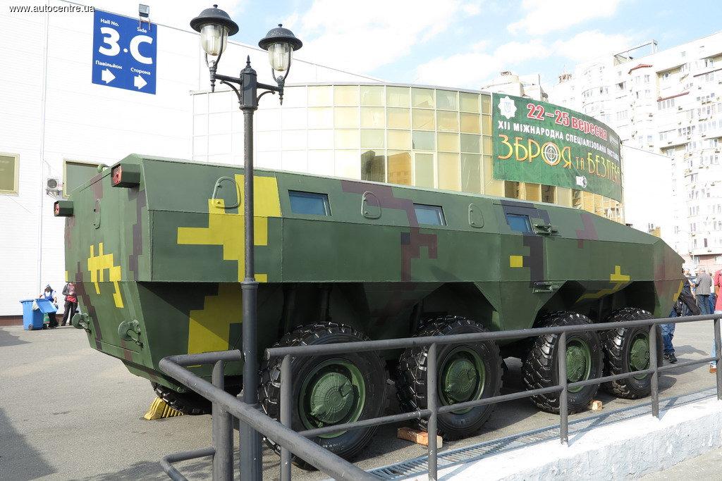 Украинский «Варан» - новый взгляд на БТР-70