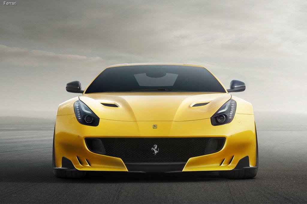 Ferrari F12tdf теряет вес