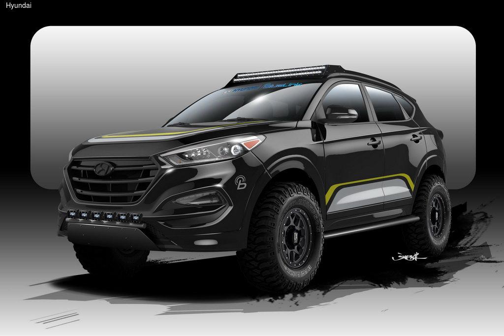 Из Hyundai Tucson сделали «настоящий» внедорожник