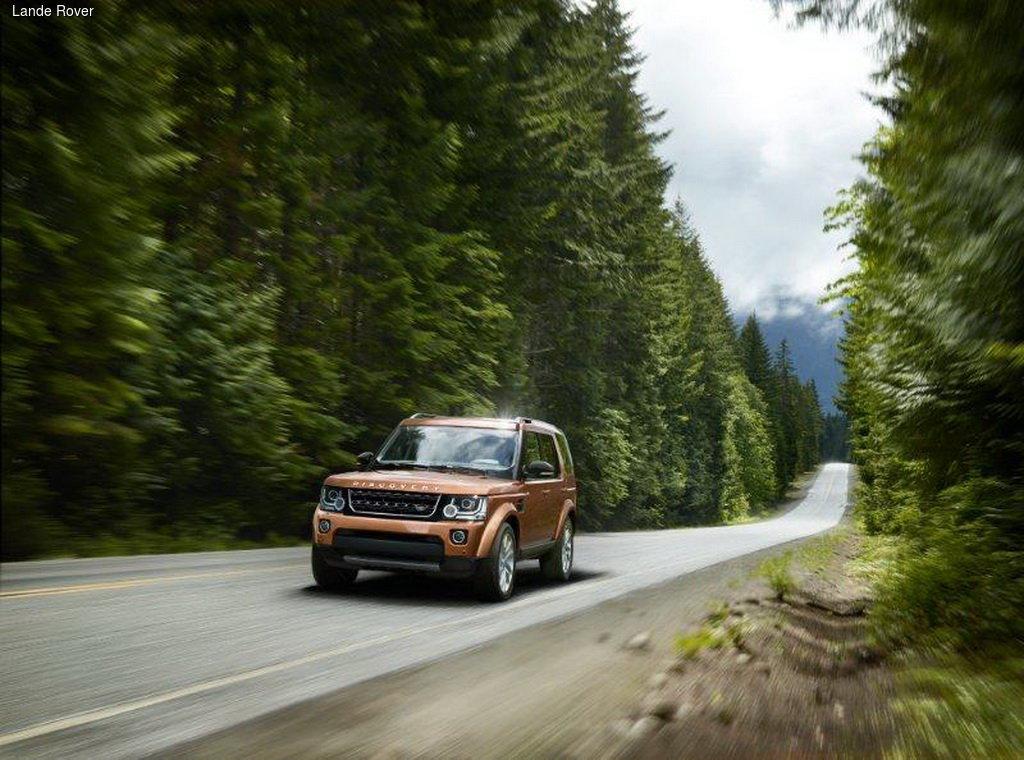 Land Rover Discovery четвертого поколения получил специальные версии Landmark и Graphite