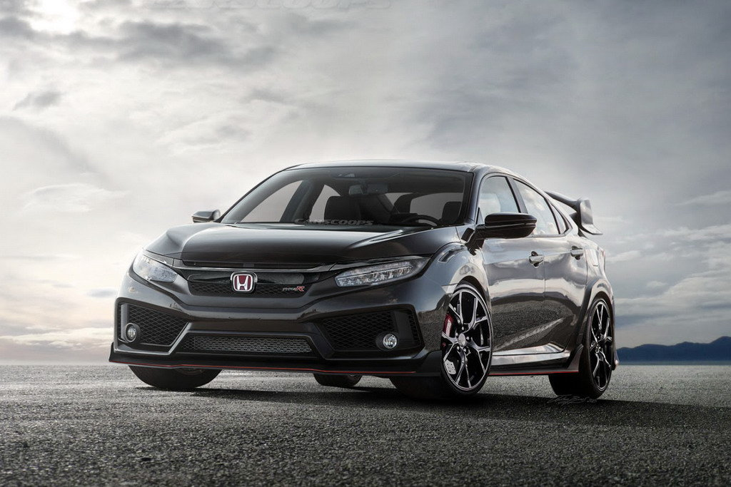 Новая Нonda Civic Type-R