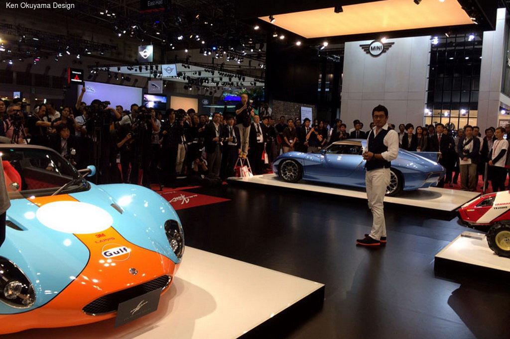 Ken Okuyama Design показал три спорткара