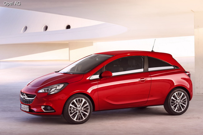 Opel Corsa: претендент на звание «Авто года в Украине 2016» в малом классе