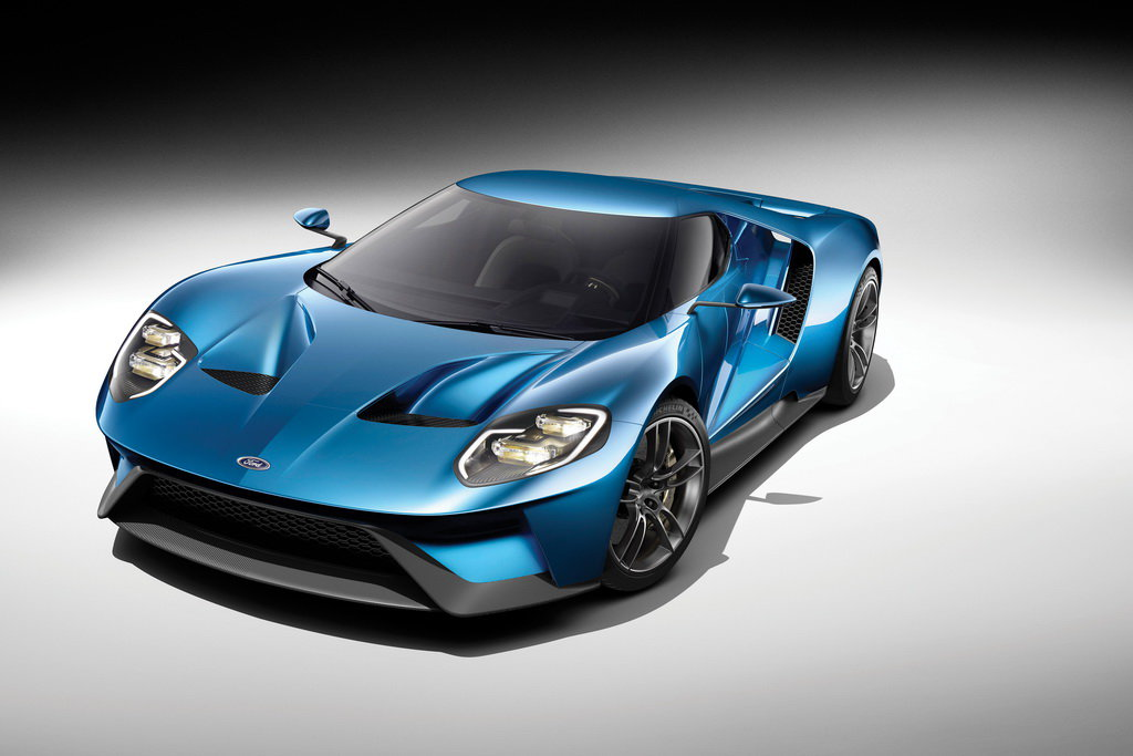 �� ��������� Ford GT ����� ����������� ��������� ������ Corning Gorilla Glass