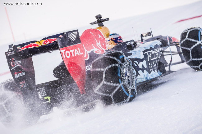 Горнолыжная трасса, задний привод, отсутствие клиренса... Для современной Формулы 1 это не проблема