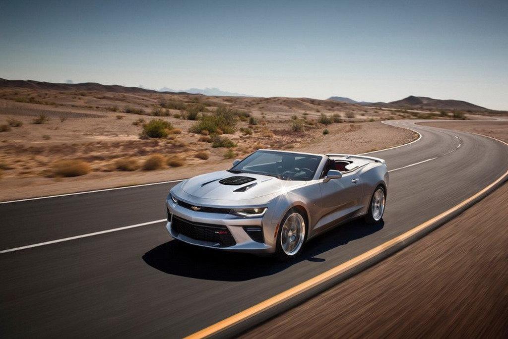 Chevrolet Camaro 2016: даешь 600 л. с.