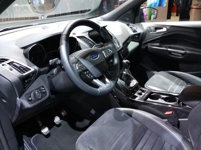 Рестайлинговый Ford Kuga