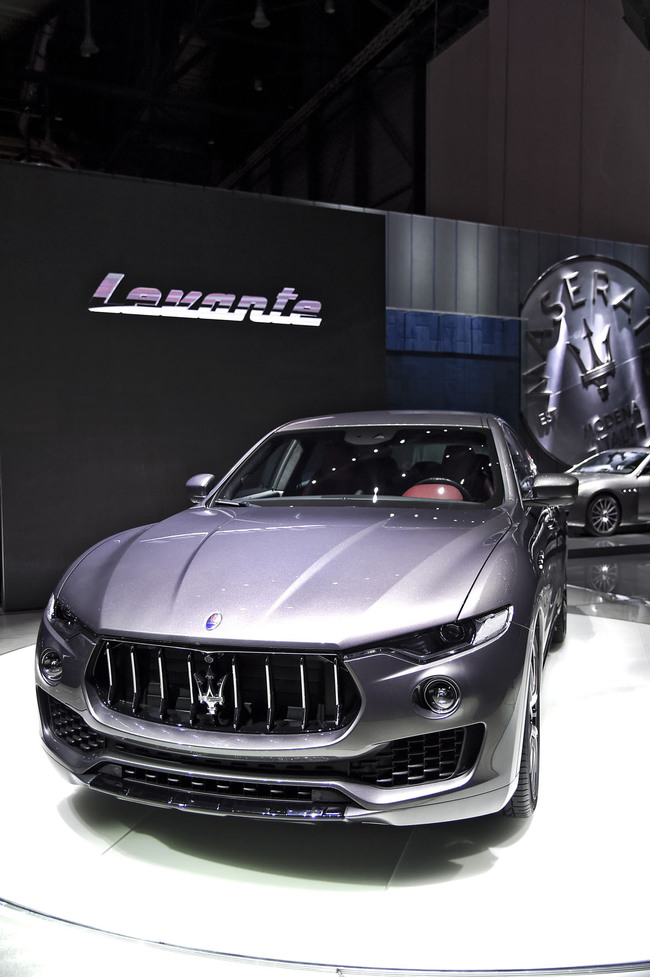 Женевский автосалон 2016: Maserati Levante