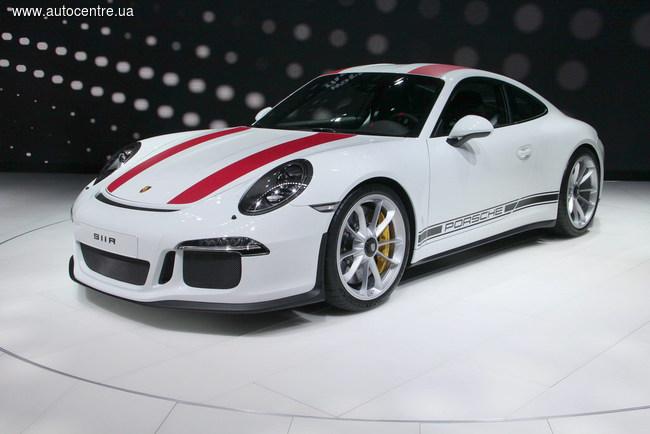 Женевский автосалон 2016: Porsche 911 R и 718 Boxster S