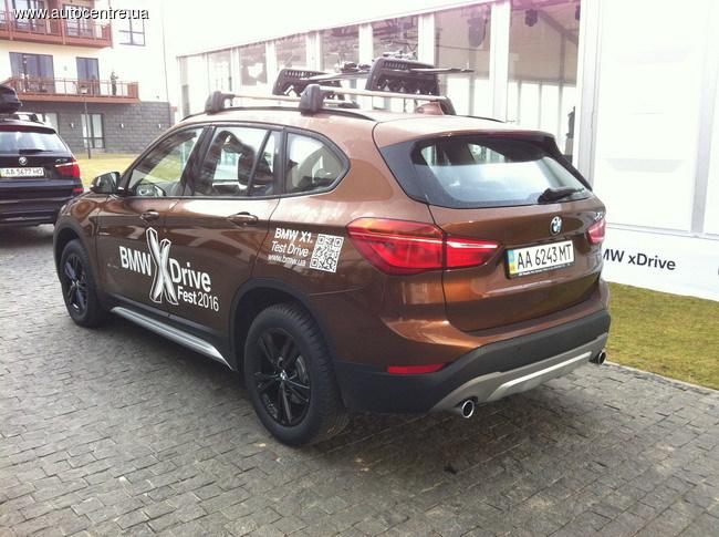 Тест-драйв BMW: xDrive покоряет Карпаты