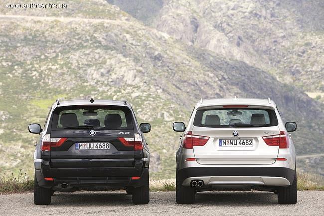 Обзор BMW X1 и BMW X3