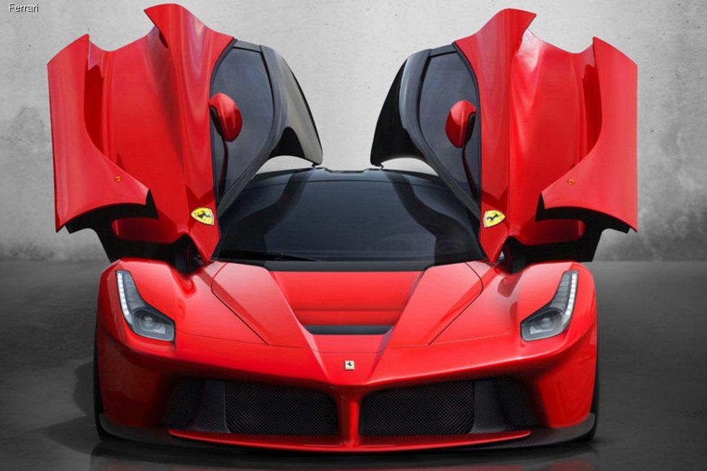 Открытый Ferrari LaFerrari Spider оценили в 5 миллионов евро