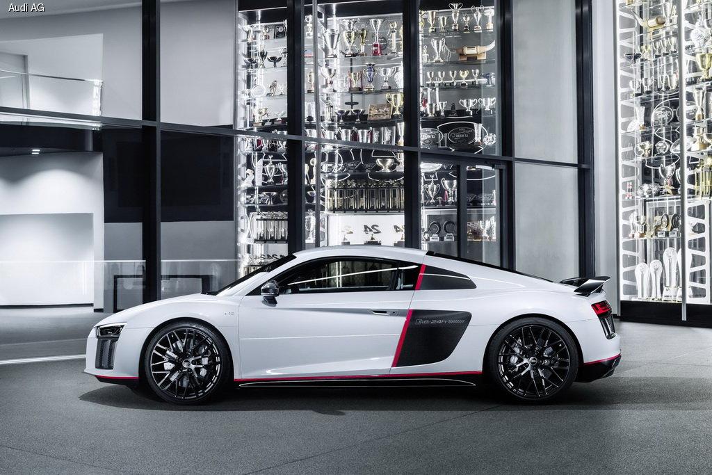 Audi выпустит топ-версию суперкара R8 в честь победы в 24-часовых гонках