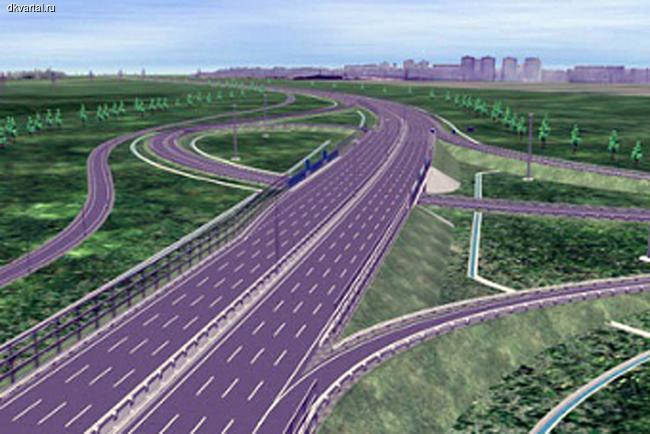 """...компания  """"Автодор """" предложила ускорить постройку центральной кольцевой автодороги вокруг Москвы (ЦКАД)."""