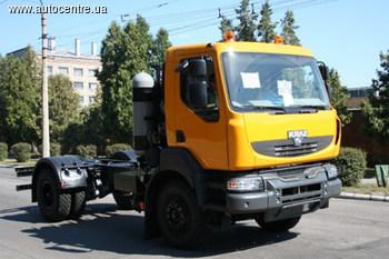 КрАЗ Н12.2R с газовым двигателем