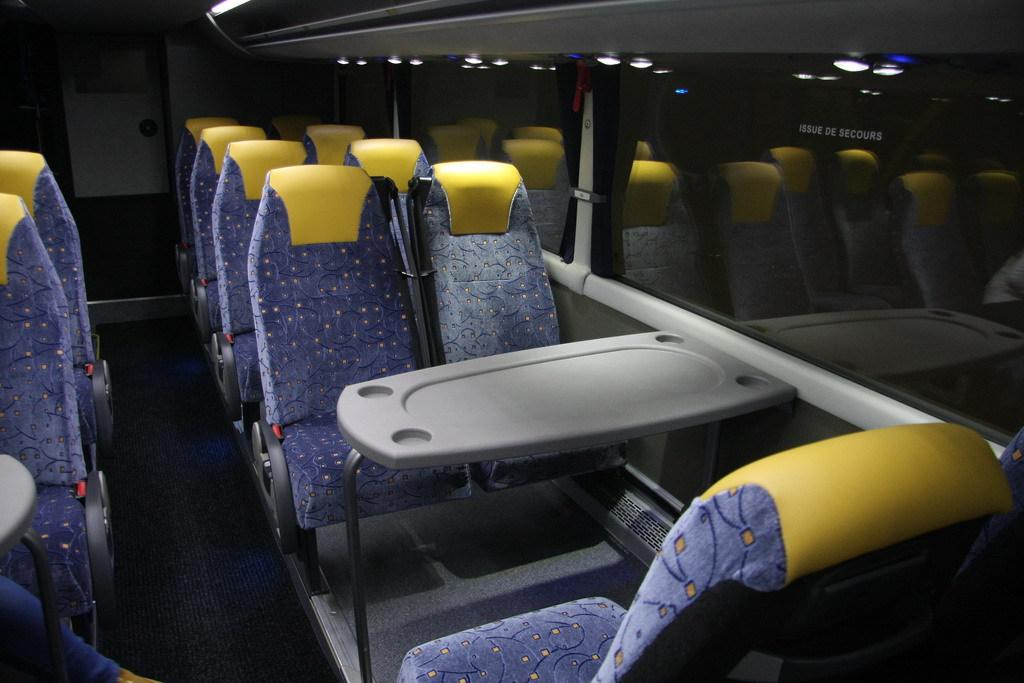 Фото салона   Автобус MAN Beulas