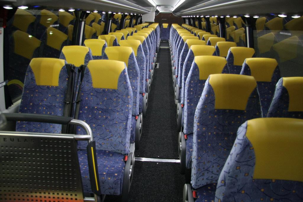 Фото салона автобуса MAN Beulas