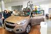 Презентация новой версии внедорожника Hyundai ix35