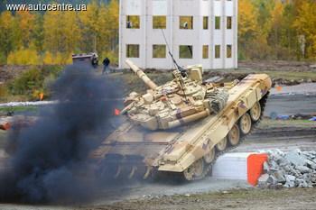Российскому премьеру показали секретный танк