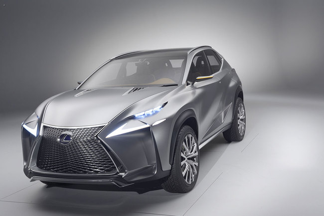 Lexus везет во Франкфурт концепт нов…