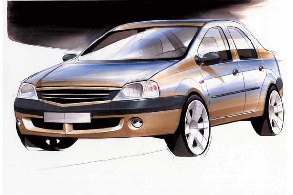 Возможно, бюджетный Nissan будет вчем то схож с Logan.