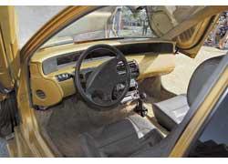 Торпедо от купе Honda Prelude хорошо сочетается с обновленным интерьером и конструктивно, и стилистически.