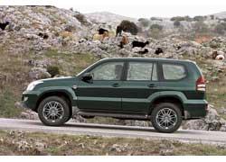 "Toyota LC Prado с дисками 17"" MKW MK 57"