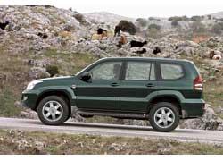 "Toyota LC Prado с дисками 17"" CW Design CWA"