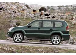 """Toyota LC Prado с дисками 18"""" CW Design CV"""