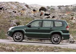 "Toyota LC Prado с дисками 20"" Lodio Drive Hussar"