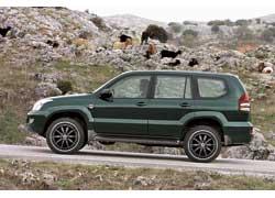 """Toyota LC Prado с дисками 20"""" Asanti AF 134"""