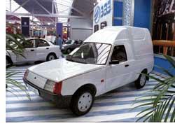 «Таврия» Pick-Up была представлена без «напарника» – фургона Lanos.