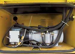 «Автономка» в салоне, она же предпусковой подогреватель двигателя – и морозов можно не бояться.