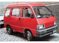 Piaggio Porter («комби»). Груз. – 680 кг. Дизель – 1221 см куб, 48 л. с.